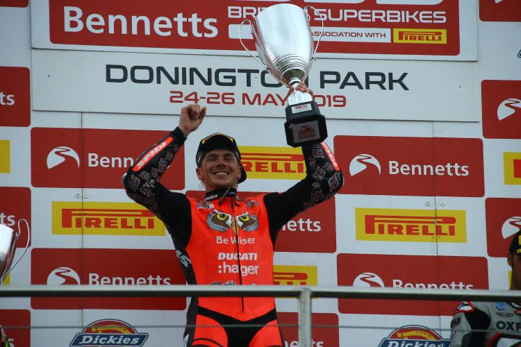 Treble Top For Redding At Donington