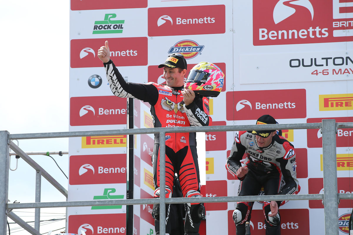 Podium for Brookes