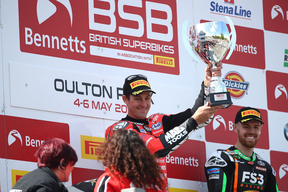 Trophy for Brookes