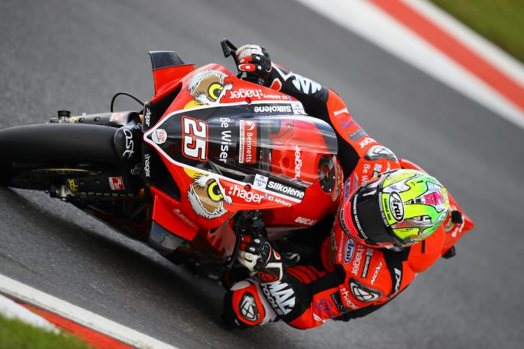 "Josh Brookes: ""I was struggling a bit at the beginning of the weekend as although the lap times were good, it was requiring a lot of physical effort to do them."""