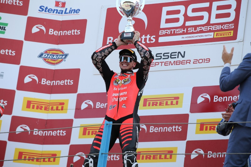 Double Winner Redding Stars At Assen