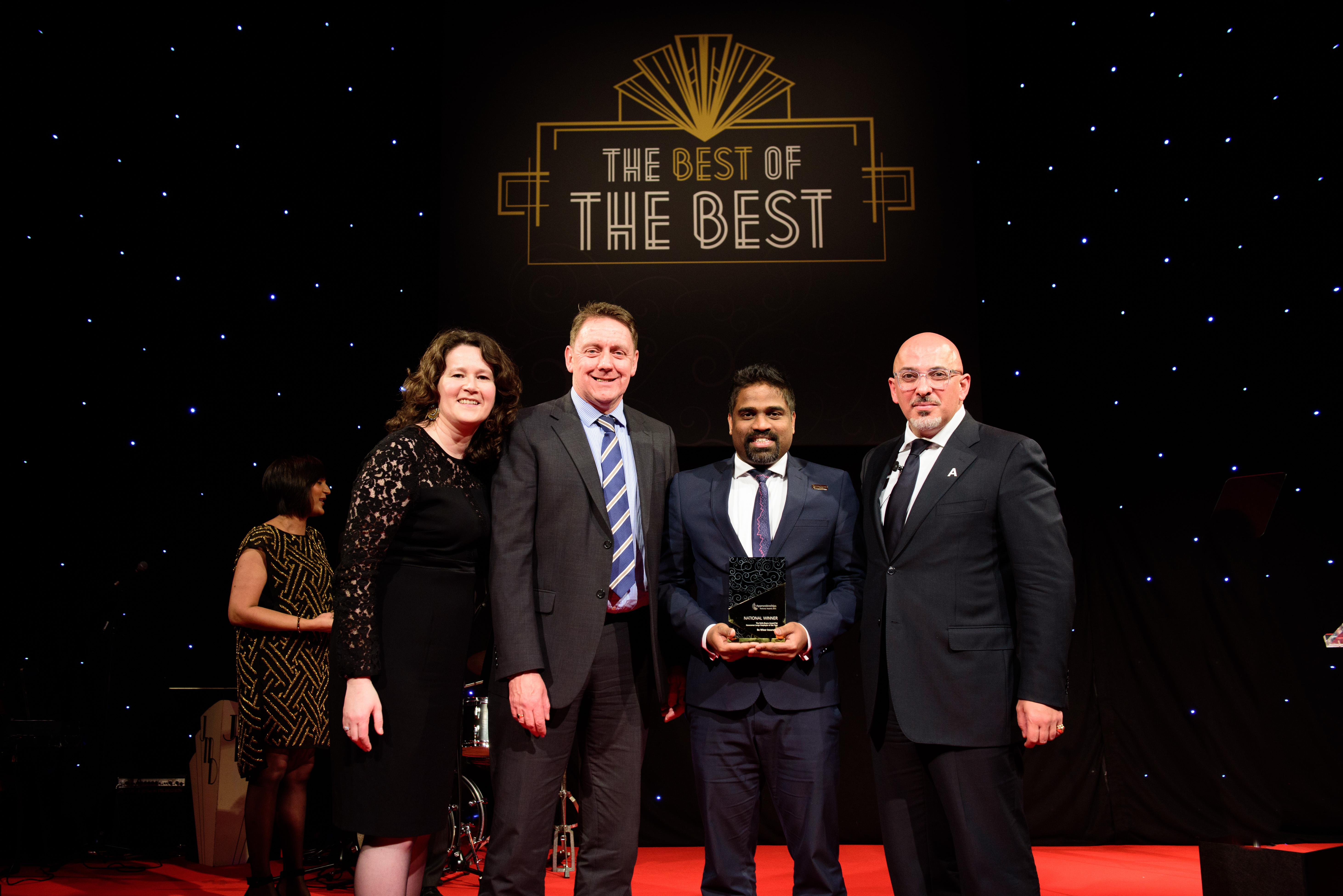 Be Wiser Insurance wins National Apprenticeship Award