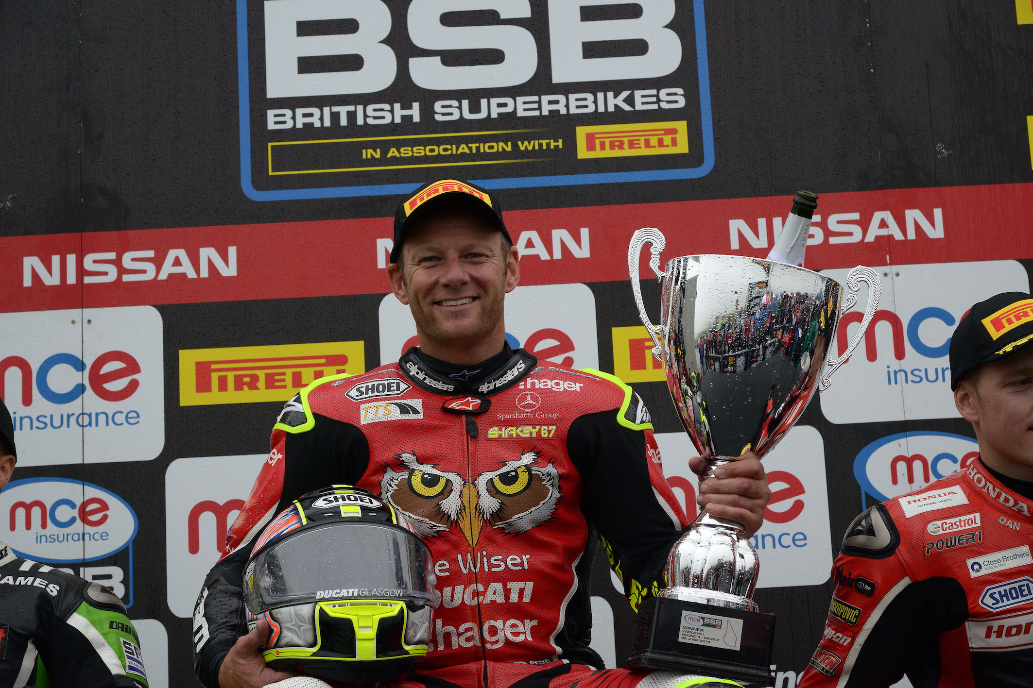 Byrne Bounces Back To Take Knockhill Victory