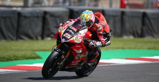 "Josh Brookes: ""I'm looking forward to racing at Brands Hatch as it's a track I've had a lot of success at in the past and I really enjoy riding there."""