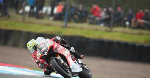 "Josh Brookes: ""To be honest, I'm glad to be leaving Knockhill as it hasn't been a great weekend and I'm disappointed for the whole team as everyone's been working hard and putting in as much effort as always."""