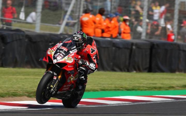 Sensational Win For Redding At Donington Park