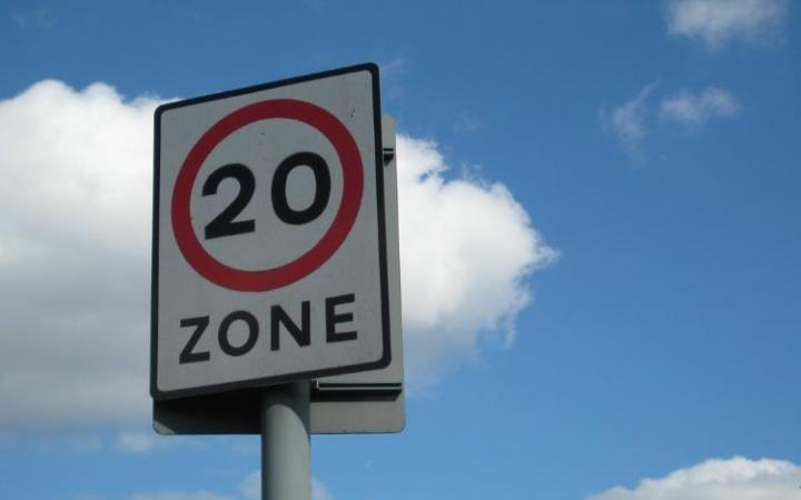 Wales backs default 20mph limit for all residential areas