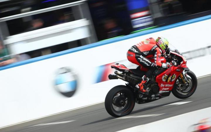 "Josh Brookes: ""I wasn't bothered about the rain to be honest as we were really strong in the wet at Brands Hatch where I think only Danny Buchan was quicker than myself and I was looking forward to the session"""