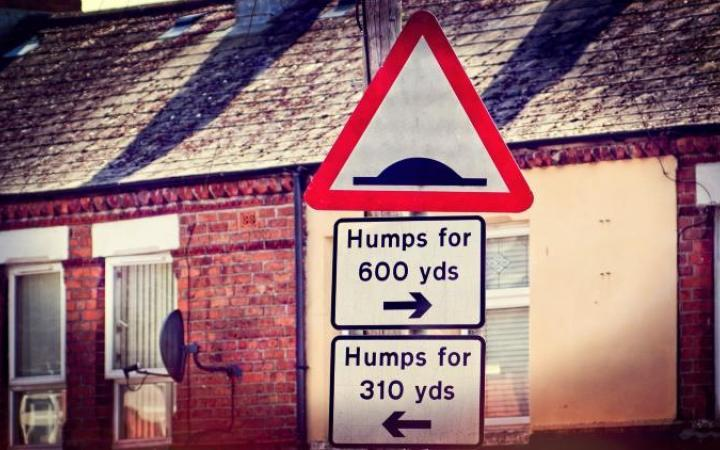 Number of speed bumps in UK increases to 42,000