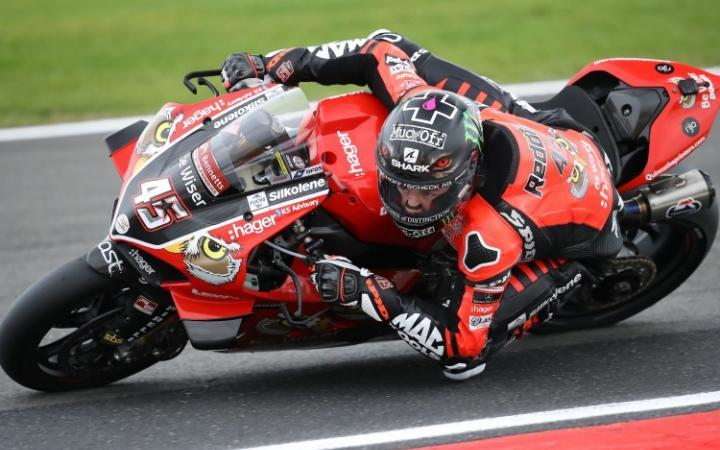 Redding Rockets To Donington Pole As Brookes Takes Second