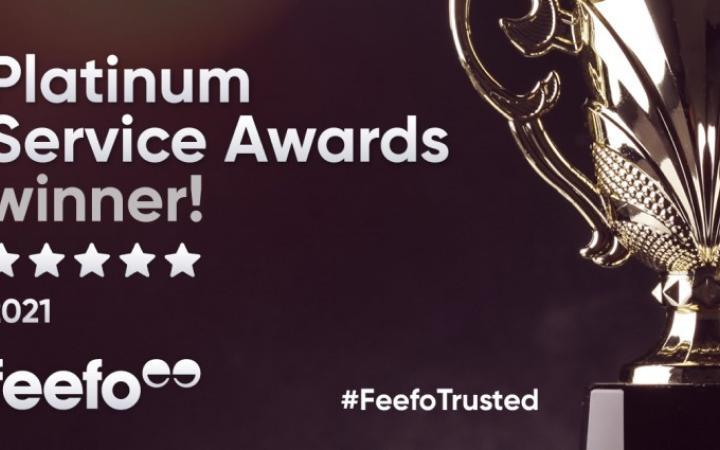 Be Wiser Insurance Receives Feefo Platinum Trusted Service Award 2021