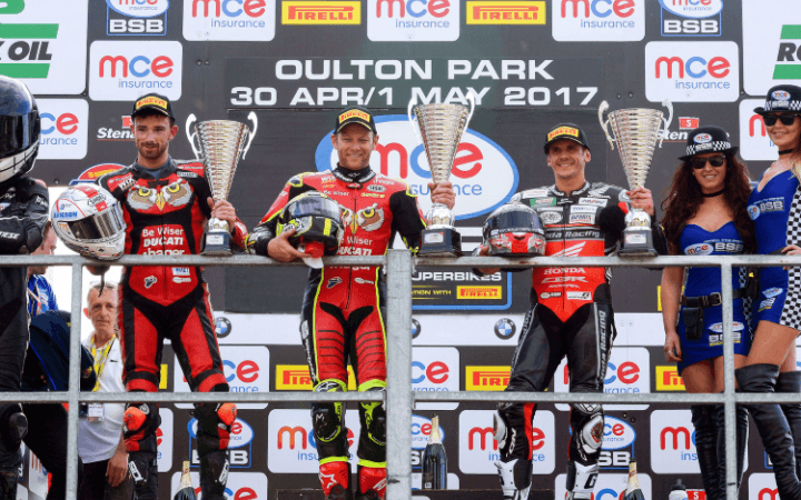History Making 1-2 For Byrne And Irwin At Oulton Park