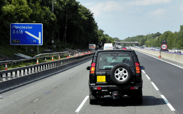 Speed limits for motorway roadworks to be increased from 50mph to 60mph within months to ease congestion and boost safety