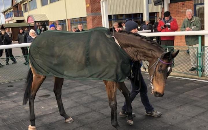 Southwell legend General Tufto ahead of his 126th and final appearance at the Nottinghamshire track.