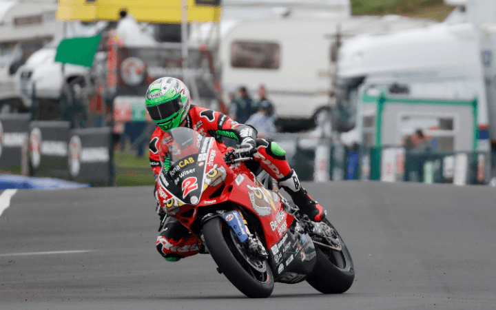 Sensational NW200 Double For Irwin