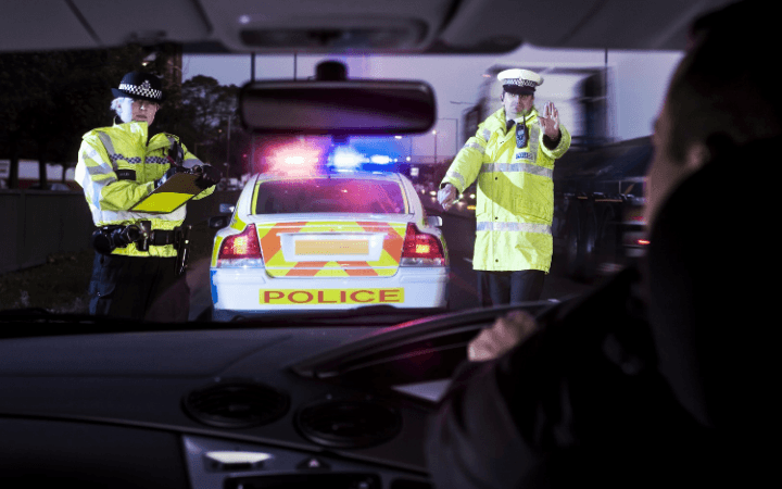 Convicted drink drivers have cars electronically tagged and tracked by the police – but only in some areas of the UK