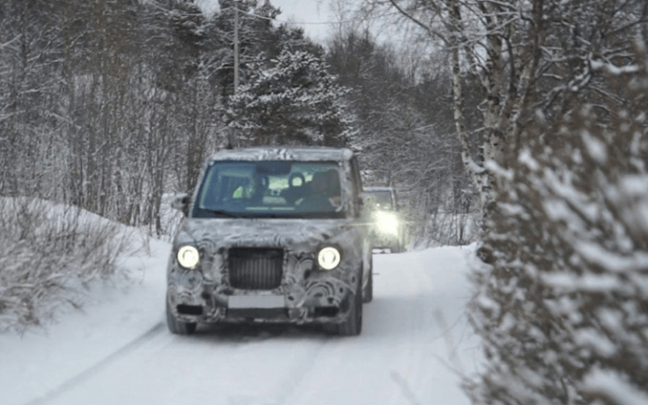 New electric London taxi undergoes extreme Artic Circle test to ensure you'll be warm when you catch one in town