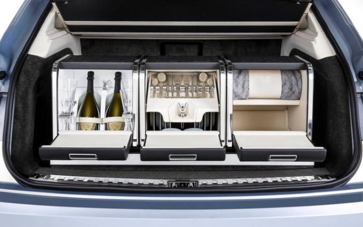 If you can't quite stretch to a new Bentley, how about its bespoke picnic hamper – which costs more than a family car