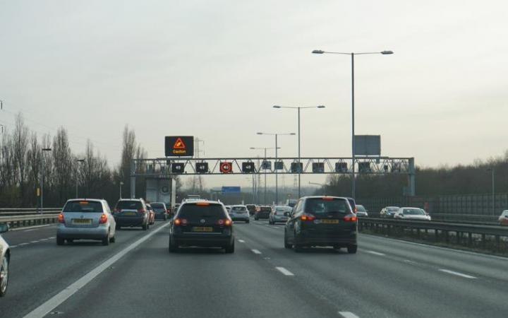 A fifth of drivers ignore smart motorway 'red X' signs risking £100 fine