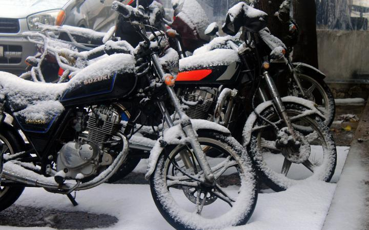 Preparing Your Motorbike for Winter